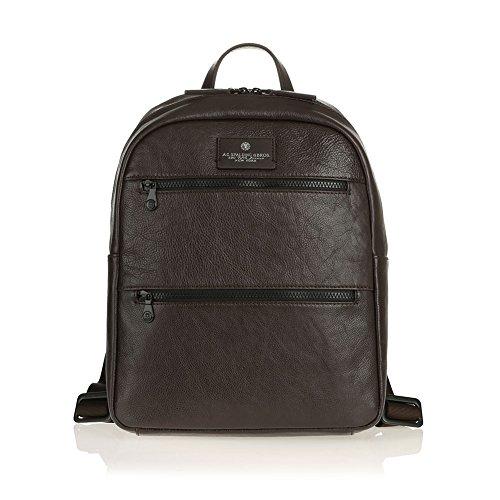 Zaino Porta Pc 14.0' 2 Tasche Zip Davanti | Spalding & Bros | 750310-Testa Moro