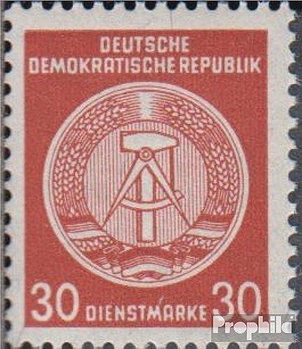 Prophila Collection DDR DA38I, Schraffurlinien mit Farbe ausgefüllt (Feld 12) 1957 Zirkelbogen nach rechts (Briefmarken für Sammler)