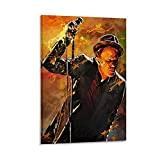 rongtao Tom Waits Poster, dekoratives Gemälde, Leinwand,