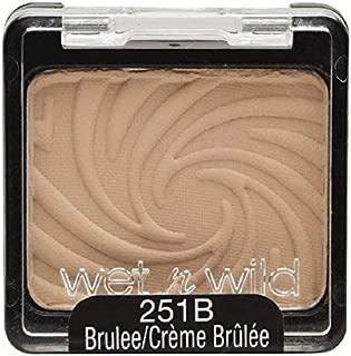 Wet n Wild Color Icon Eyeshadow Single, Brulee [251B] 0.06 oz