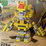 XJ9889 COCHE ROBOT PARA MONTAR X-BLOCK
