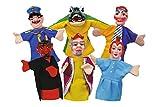 Simba 104586784 - Marionette, Set da 6, 10 cm, Modelli Assortiti