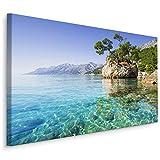 Muralo Bilder Meer 120 x 80cm Bild auf Leinwand Wandbild