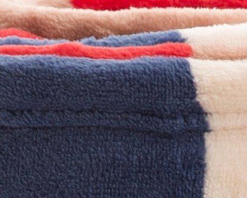 mofua(モフア)毛布シングルオールシーズン快適エアコン対策マイクロファイバー洗える140×200cmチェック柄レッド500001C8