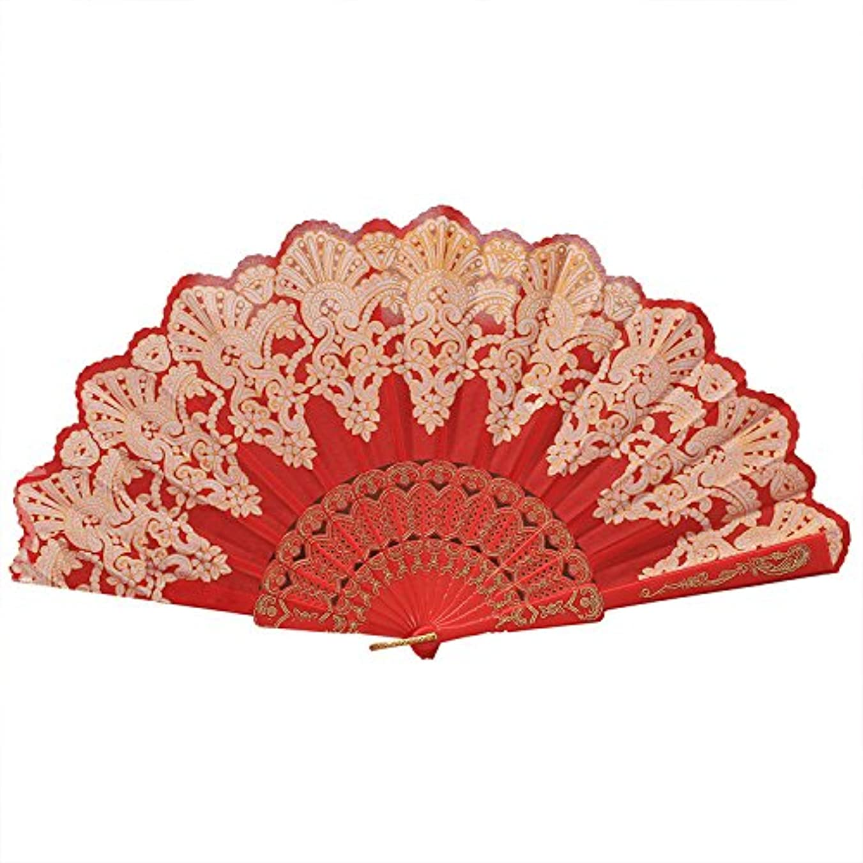 Zhaozhe 扇子 折りたたみ 猛暑対策 【浴衣 着物 仮装】 お祭り 夏の行事 踊り 練習用品 贈り物