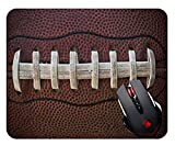 Sports Mouse Pad, American Football Themed Fun Traditional Mosue pad Gaming Mouse pad Mousepad Nonslip Rubber Backing