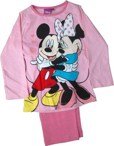 Disney Micky und Minnie Power of Love Schlafanzug rosa