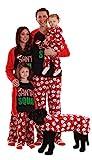 #followme Family Pajamas Microfleece Mens Pajama Set 6750-10433-L