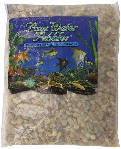Pure Water Kieselsteine für Aquarien, 0,9 kg, Cumberland River Gems