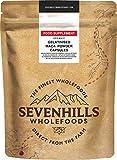 Sevenhills Wholefoods Cápsulas De Maca Negra Gelatinizada En Polvo Orgánico 500mg x 180