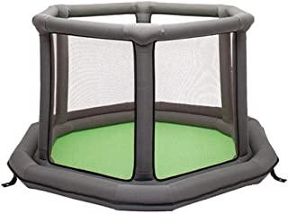 SXXDERTY-playard Nursery Furniture Playpens Children s Air Fence Foldable Toddler Fence Indoor Portable Playground Best Gift for Infants Kids Safety Activity Center Area 55 30in