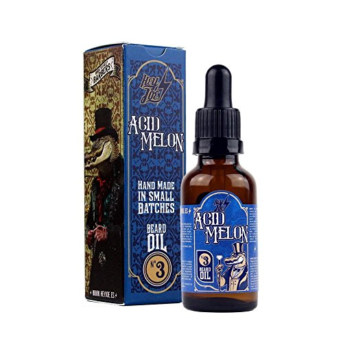 HEY JOE - Beard Oil Nº3 ACID MELON 30ml | Aceite para barba30ml con ARGÁN, JOJOBA y MACADAMIA. Aroma a MELÓN