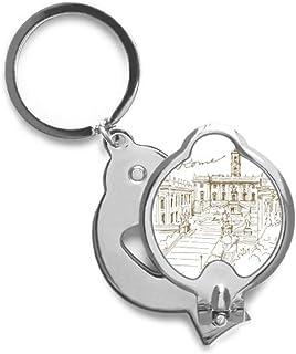 DIYthinker Fontana Di Trevi Rome Fontana Landmark Fingernail Cutter Trimmer
