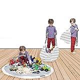 Alfombra de juego con que forma bolsa para juguetos | Ordenación a sus manos!