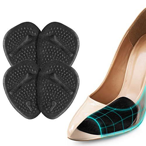 Haofy Almohadilla De Gel Para El Metatarso, Almohadillas para los pie del Antepié Almohadillas Metatarsales para Zapatos con Tacón Alto, Antideslizante Plantillas de Zapatos