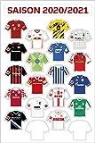 Am Ball Com 1. Bundesliga Magnettabelle - Magnet-Set der Trikots (2020/21)