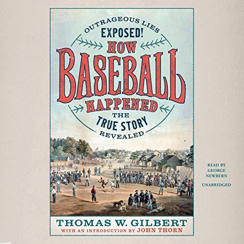 How Baseball Happened cover art