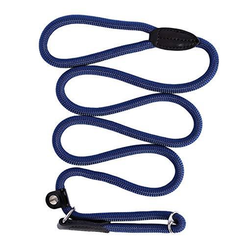 dibea Hundeleine, Führleine, Zugleine, Länge 170 cm, Farbe dunkelblau, 1er Pack (1 x 250 Grams)