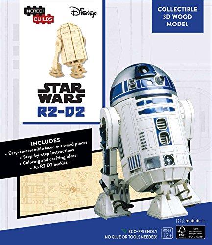 Price comparison product image IncrediBuilds: Star Wars: R2-D2 3D Wood Model