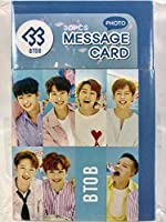 BTOB ビートゥービー グッズ / フォト メッセージカード 30枚セット - Photo Message Card 30pcs [TradePlace K-POP 韓国製]