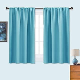 NICETOWN Kitchen Window Blackout Curtain Panels – Energy Saving Window Covering..