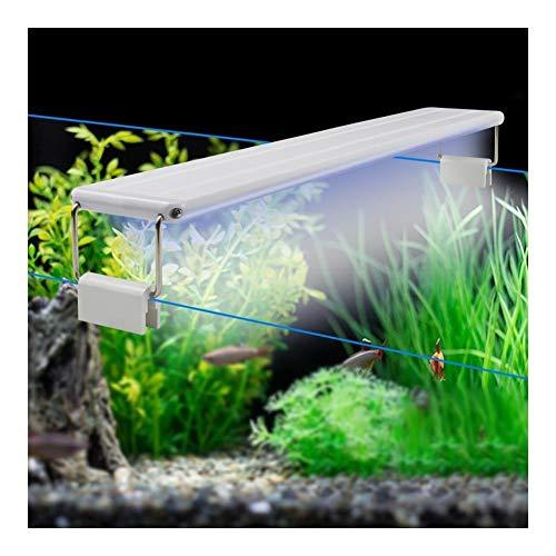Éclairages pour aquarium Aquarium éclairage LED de 220-240V Fish Tank Lampe avec Extendable Brackets Fit for les plantes aquatiques for aquarium élèvent la lumière Lumière d'aquarium ( Color : 28CM )