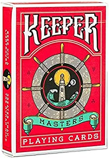 Ellusionist Keepers Masters Marked Playing Cards Deck - Red-  Magic Tricks Magic Poker Card Magic Toy