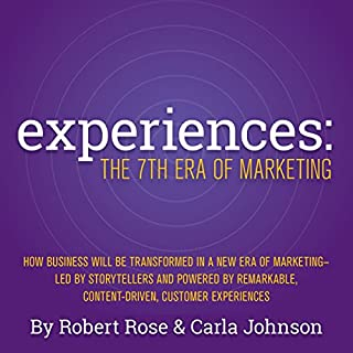 Experiences audiobook cover art