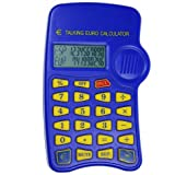 29400 | Calculadora Parlante Euro Conversora NO1103 Dos Lineas Parlante (12x8x1,5 cm)
