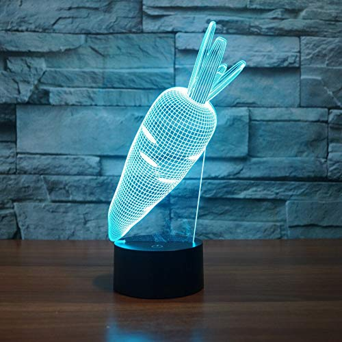 Cute Bunny Light Touch Sensor Niño Niño Baby Gift Night Light Decoración del hogar Novedad Iluminación Rabbit Night Light