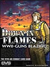 Down in Flames WWII Guns Blazing Air Combat Card Game