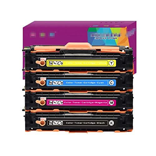 GYBN Color toner thuis kantoor vier-kleuren pack, CLT-K504S voor Samsung Laser Printer CLP-415N Toner Cartridge CLX-4195FN Easy Toner Cartridge SL-C1810W, size, 4-delig