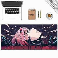 ゲームマウスパッド、新世紀エヴァンゲリオンEVAアニメゲームキーボードパッド、カフェマウスパッド、電子競技専用マウスパッド、高級感マウスパッド、800 * 300 * 3MM / 900 * 400 * 3MM-イメージA_900*400*3mm
