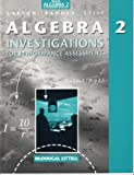 Heath Algebra 2 an Integrated Approach (Investigations for Performance Assessment)