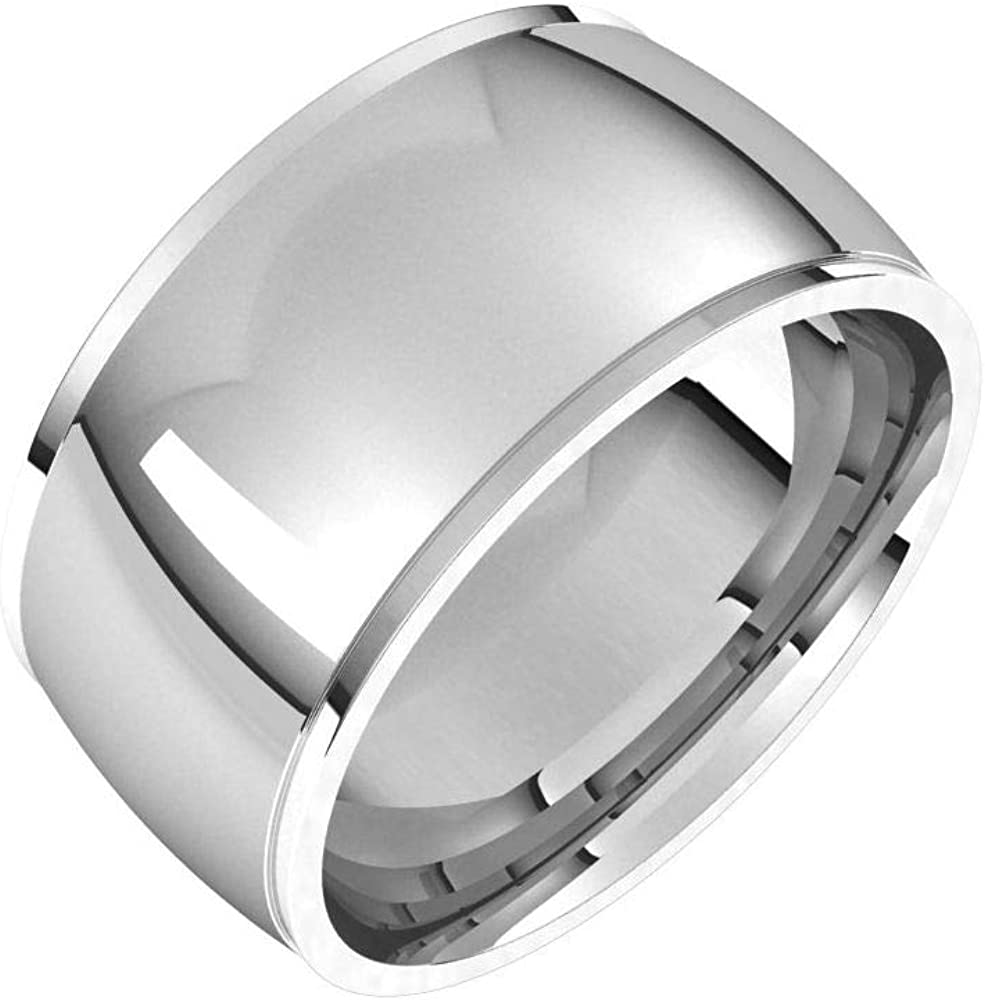 Tarnish Resistant Solid 925 Sterling 10mm Be super welcome excellence Ste Silver Fit Comfort