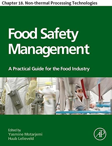 Food Safety Management: Chapter 18. Non-thermal Processing...
