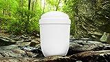 Biodegradable cremación cenizas urna de Funeral/Casket–Alaska blanco