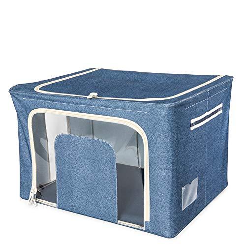 dmail - Caja para guardarropa 66L - Color azul