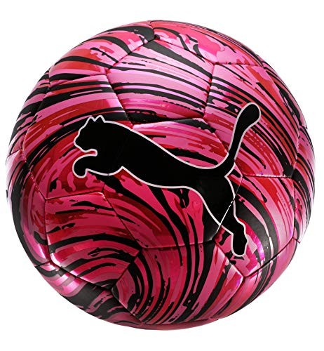 PUMA Shock Soccer Ball (Pink, Size 4)