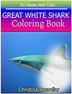 great white shark coloring pictures