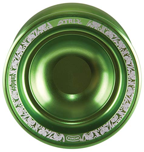 Duncan Toys Strix Yo-Yo [Green], Unresponsive Pro Level Yo-Yo, Concave Bearing