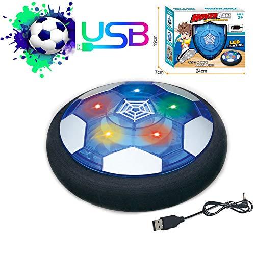 Schweben Sie Fußball Für Kinder,Wiederaufladbar Hover Ball Indoor Football Mit LED - Innen&Außen Spielzeug