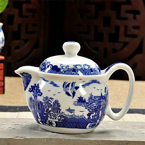 Uitstekende theepot keramisch filter porseleintheepot bloemen thee kung fu Chinese handgemaakte 350 ml Dragon Kung Fu Tea I samovar,Vliegen vleugel aan vleugel