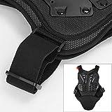 Pellor Rennsport Westen Wirbelsäule Brustpanzer Schutzausrüstung Radfahren Motorrad WesteSkifahren Reiten Skateboarding Brust Rücken Beschützer Anti-Fall Gear (Schwarz-L)