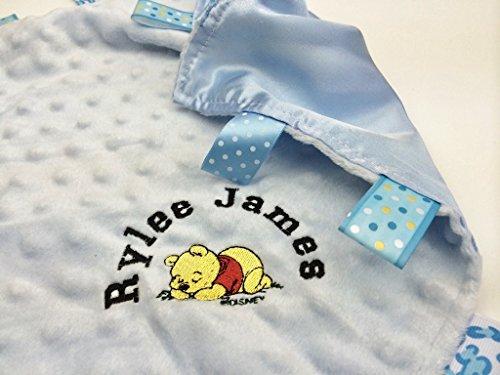 Doudou personnalisable pour bébé avec Winnie l'ourson