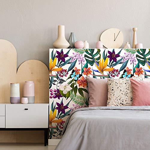 kina RA0064 Pellicole adesive per mobili e pareti, Rotoli Carta Adesiva altissima risoluzione con Varie Misure, Wrapping mobili Piastrelle tavoli armadi cucine