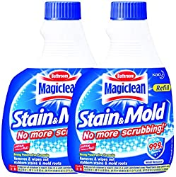 Magiclean Bathroom Stain & Mold Remover Refill, 400ml (Pack of 2)