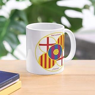 Allbirds FC Mug Panot Barcelona Tile Taza de café con Leche 11 oz