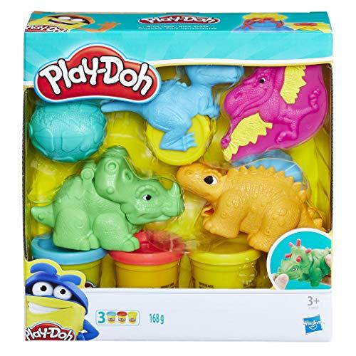 Play-Doh Dino Knet-Set, Knete für fantasievolles und kreatives Spielen