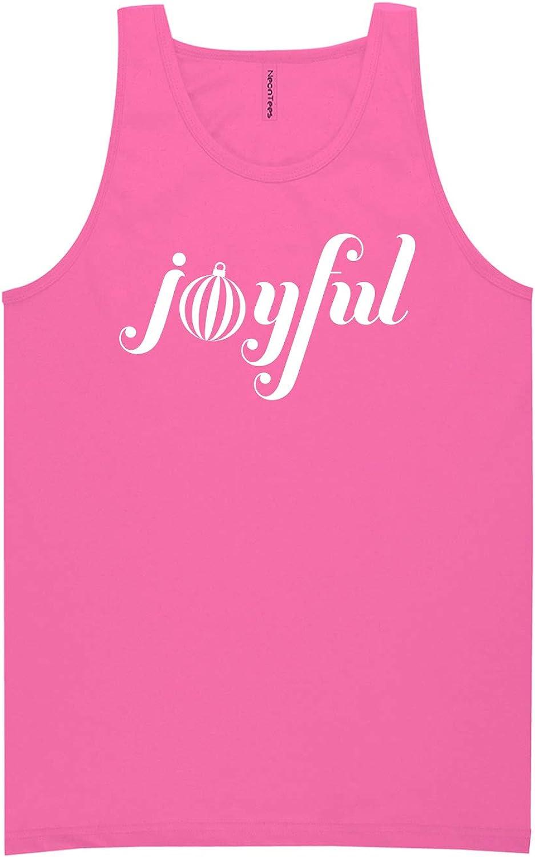 zerogravitee Joyful Neon Pink Tank Top - XX-Large
